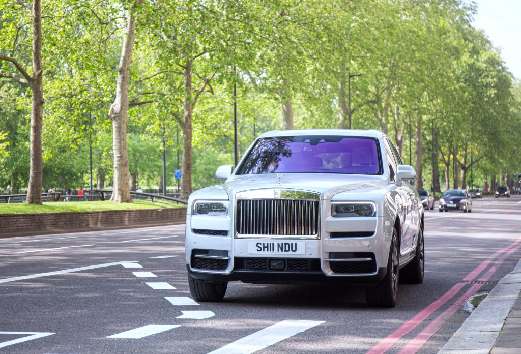 Post Malone and his 2021 Rolls-Royce Cullinan