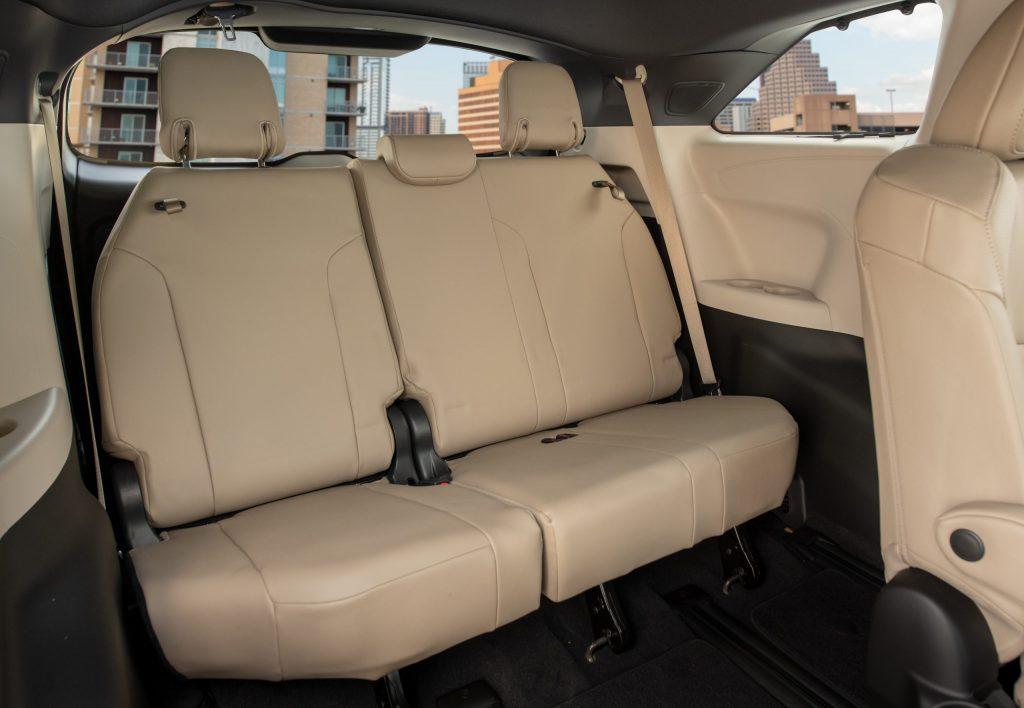 2021 Toyota Sienna Rear Seats