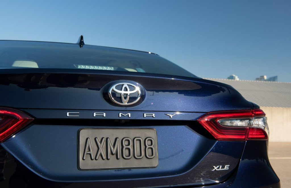 2021 Toyota Camry taillights