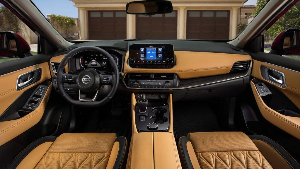 2022 Nissan X-Trail interior