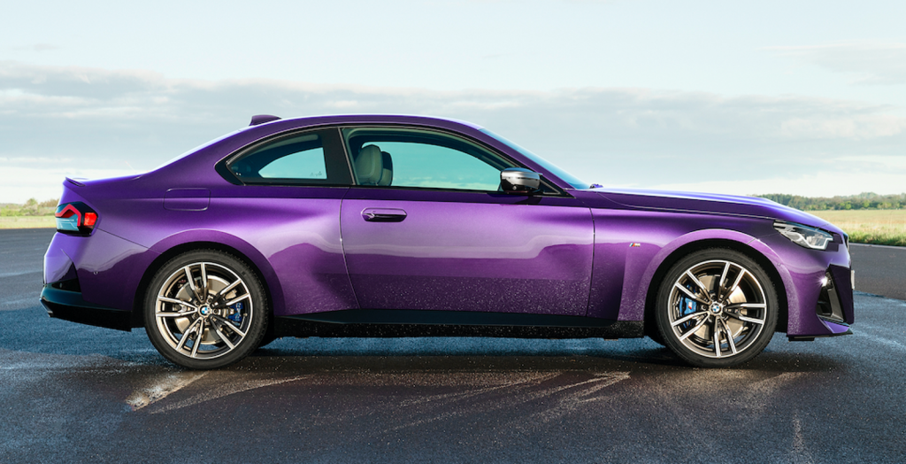 2022 BMW 2 Series profile