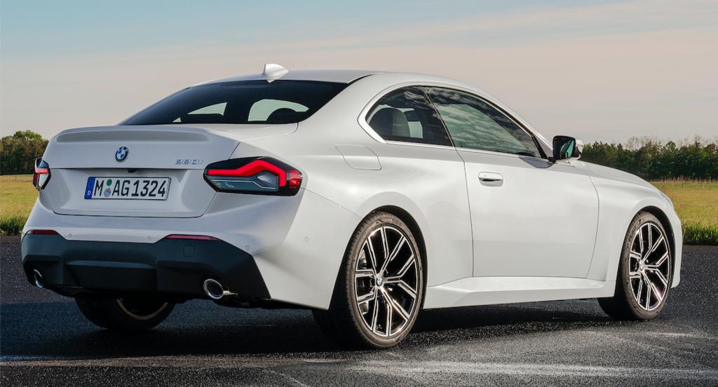 2022 BMW 2 Series rear