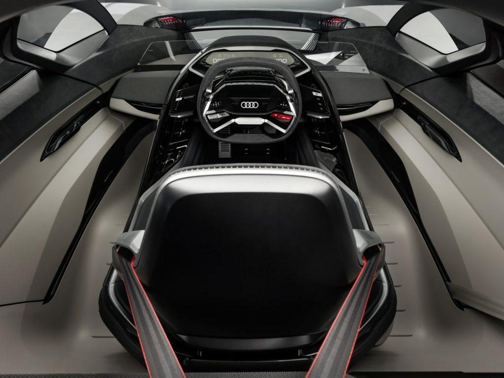 Audi AI:RACE concept car interior