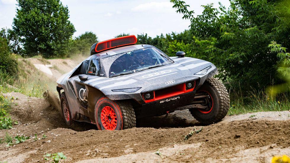 Audi RS Q e-Tron Electric Dakar Rally Car