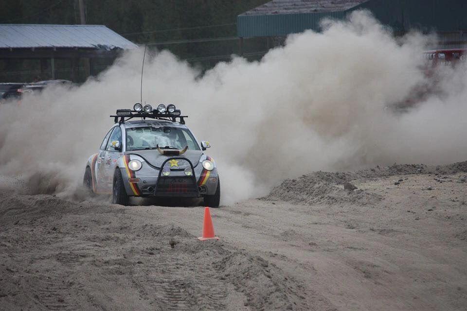 Beetle Rally Racing At HooptieX