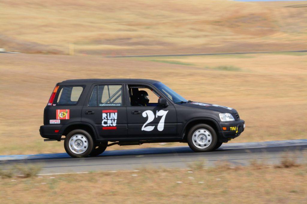 CR-V at 24 Hours of LeMons Cheap Car Race