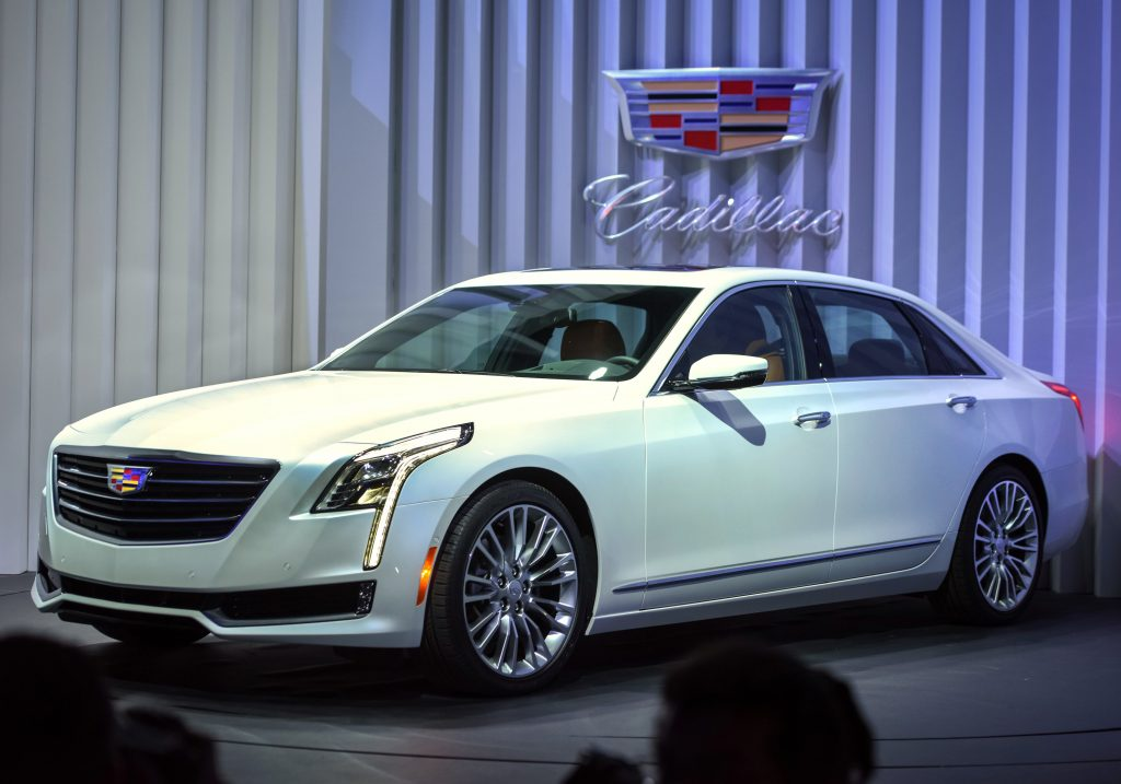 Cadillac CT6 Reveal With Chevy SuperCruise Tech