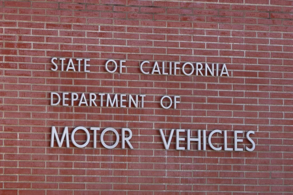 The brick exterior of the CA DMV, DMV fees are one of the most overlooked costs of car ownership