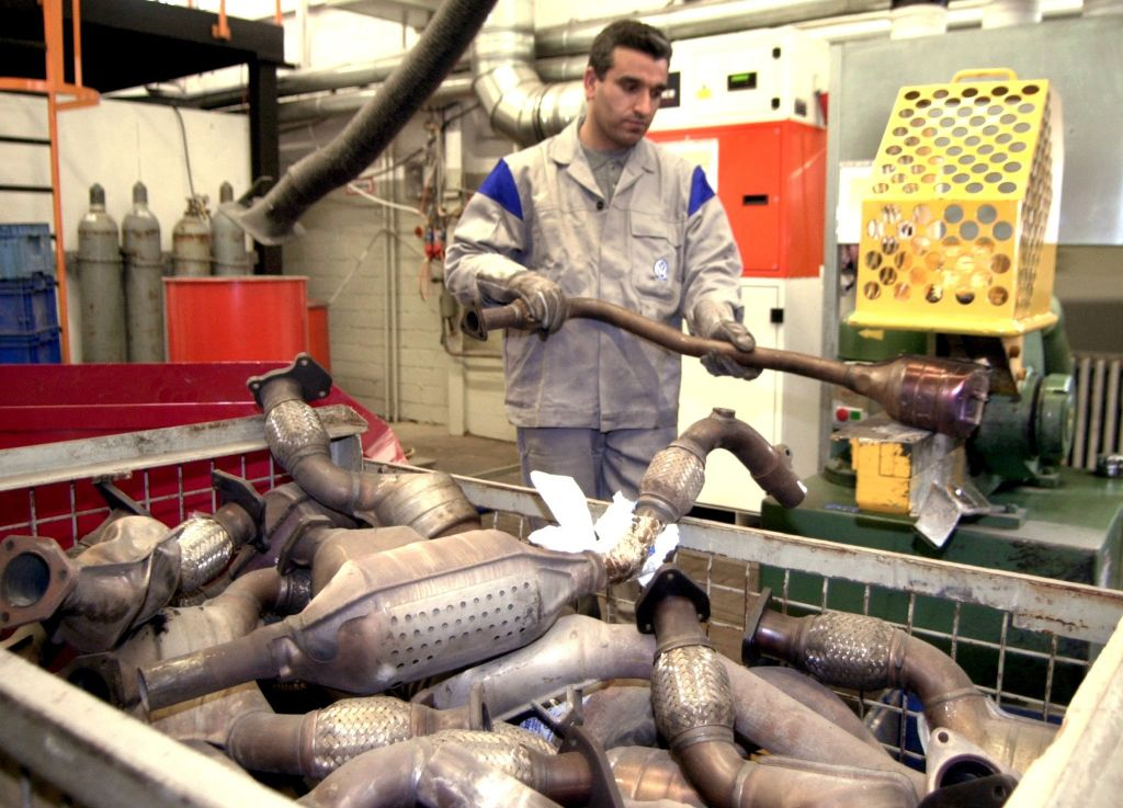 many tested catalytic converters
