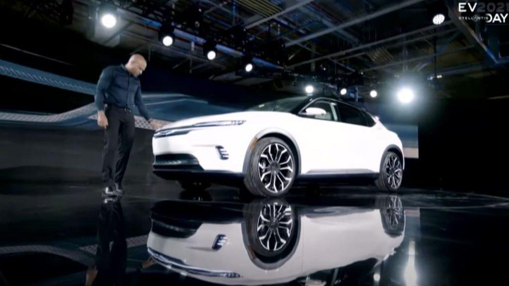 Mystery Chrysler Stellantis EV concept