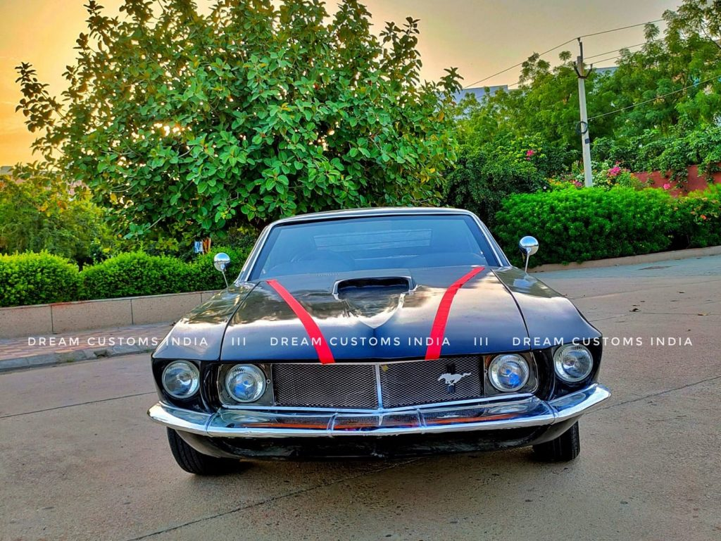 Fake 1969 Mustang fastback from India