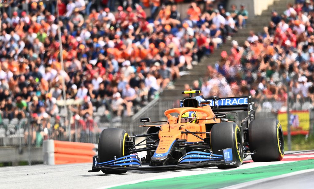 The McLaren Formula 1 Car