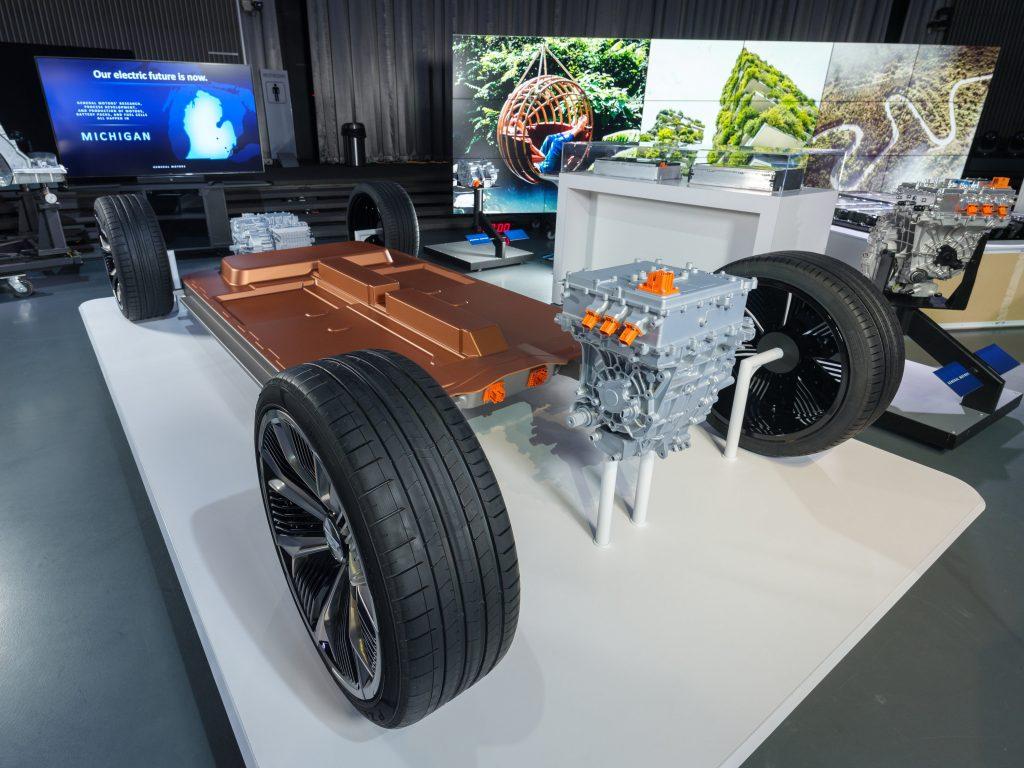 GM's Ultium Battery Platform on display