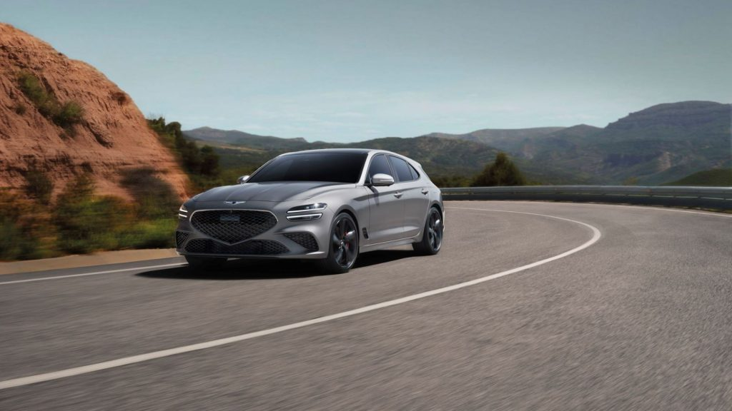 The Genesis G70 Shooting Brake wagon at the Goodwood Festival of Speed