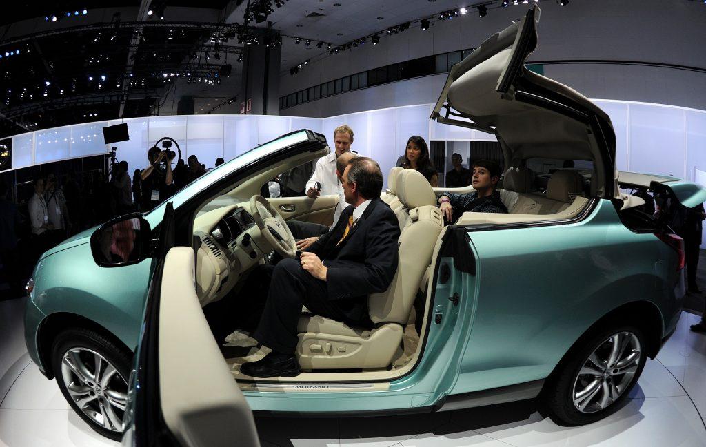 The Nissan Murano convertible SUV