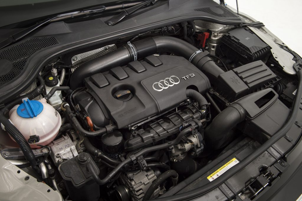 Audi's four-cylinder TFSI motor in the TT Coupe