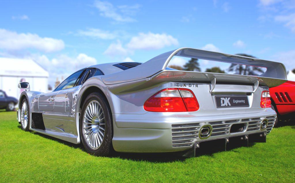 A Mercedes-Benz CLK GTR