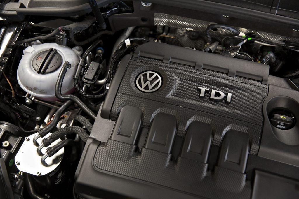 Volkswagen's four-cylinder TDI motor in the Golf SportWagen