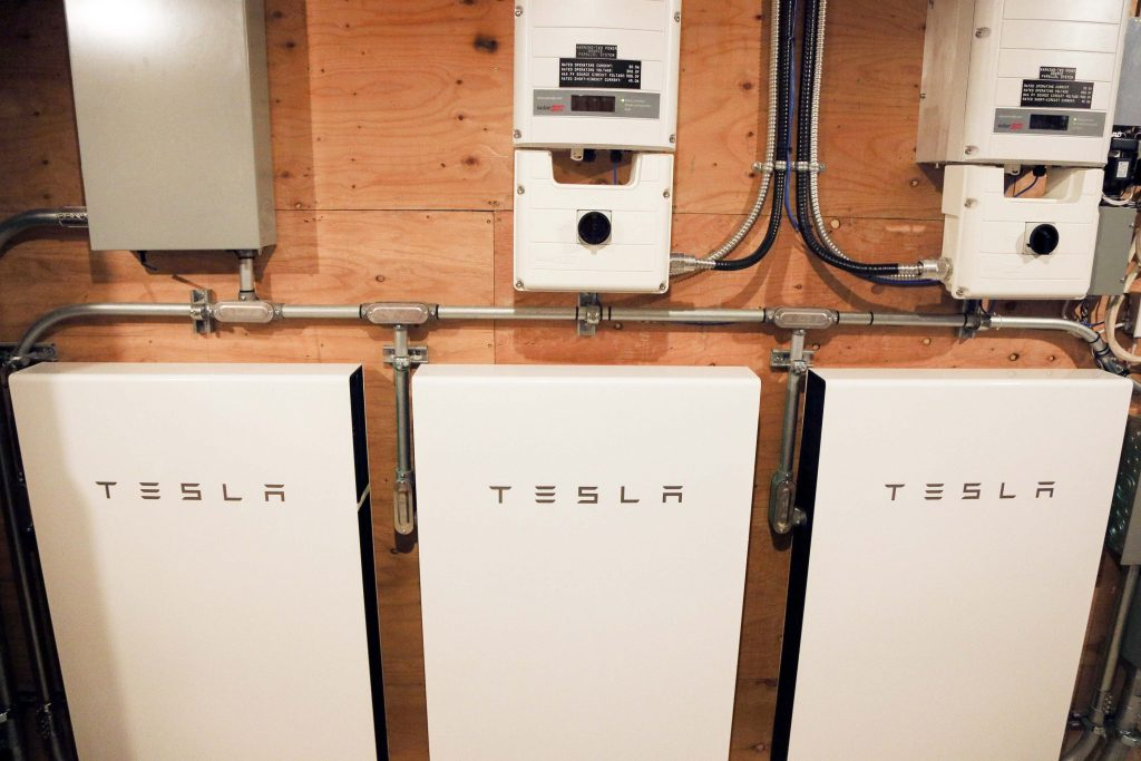 The Tesla Powerwall installed in a home in Canada