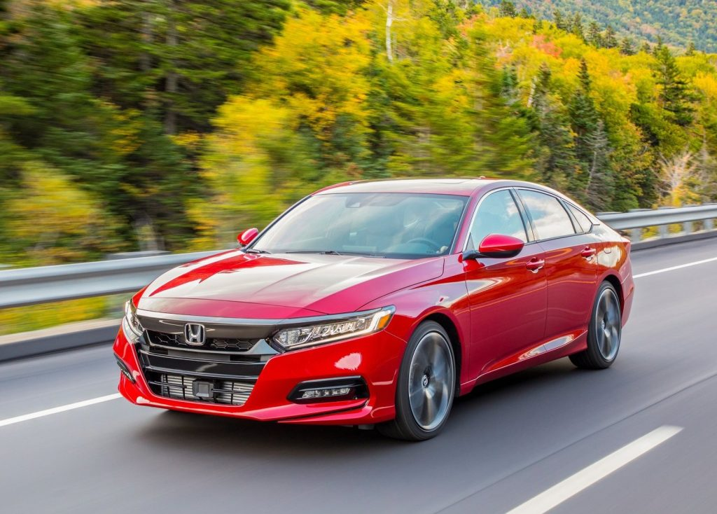 Honda Accord Sport in red