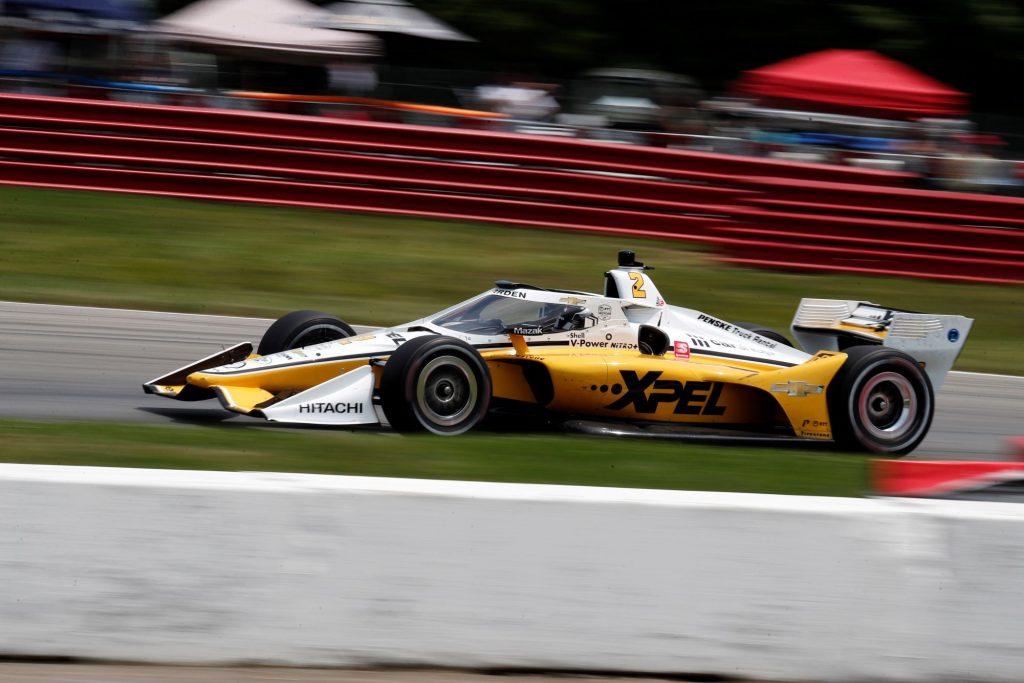 IndyCar driver Josef Newgarden during the Honda Indy 200