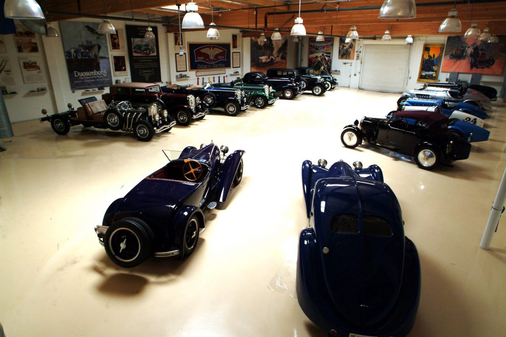 Jay Leno's Exotic Car Collection
