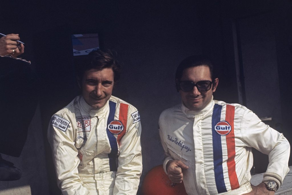 Jo Siffert and Pedro Rodriguez at the 1000 km of Monza race in 1970