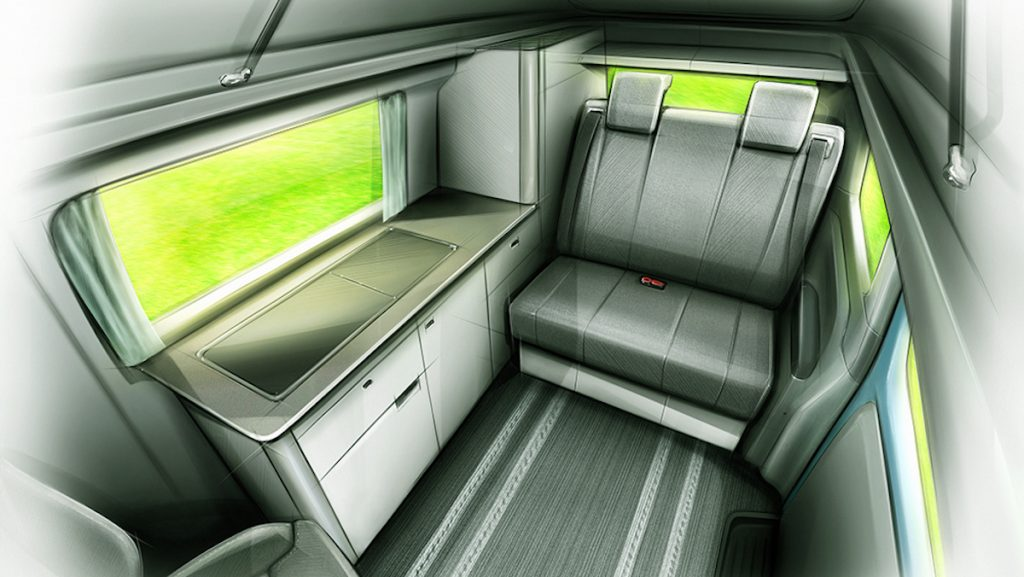 London Electric Vehicle Company (LEVC) is a tiny camper van with a surprisingly roomy interior