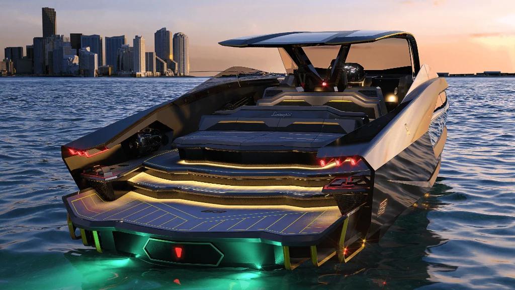 Lamborghini 63 Motor Yacht