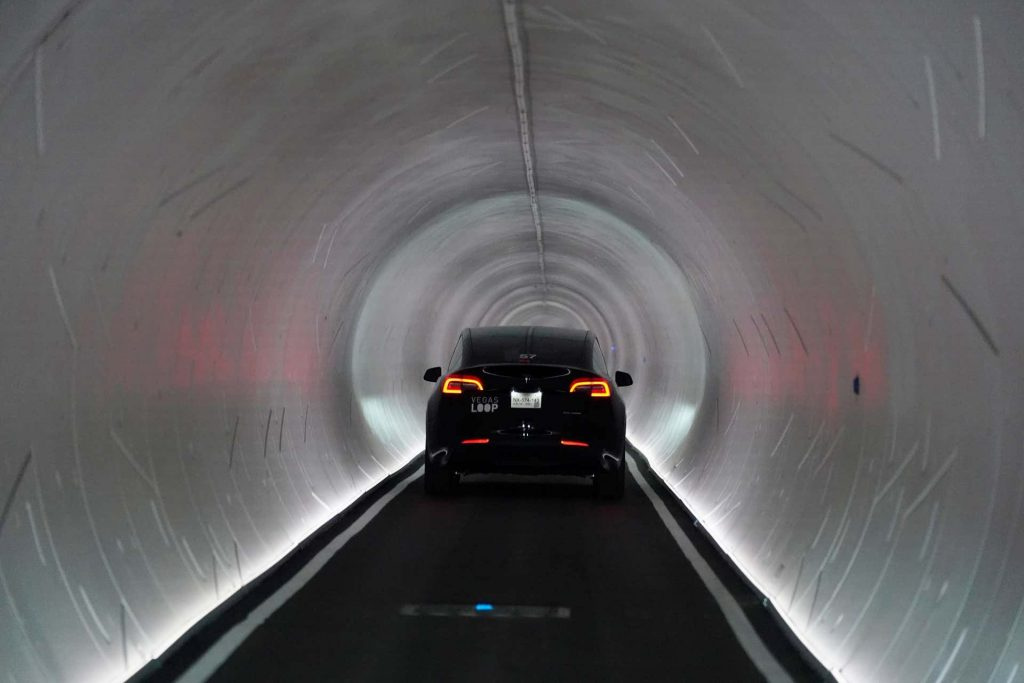 Elon Musk and The Boring Company have open the Las Vegas Loop but drivers are meant to stick to a prewritten script