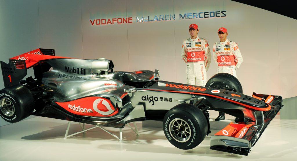 Lewis Hamilton's Formula 1 Winning McLaren