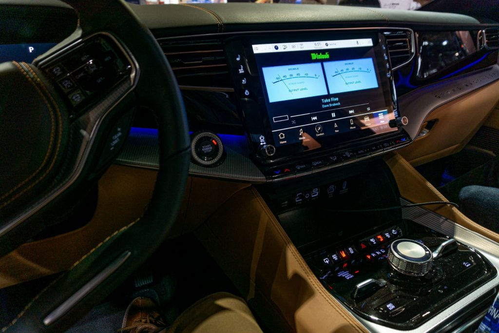 The McIntosh MX1375 audio system in a 2022 Grand Wagoneer
