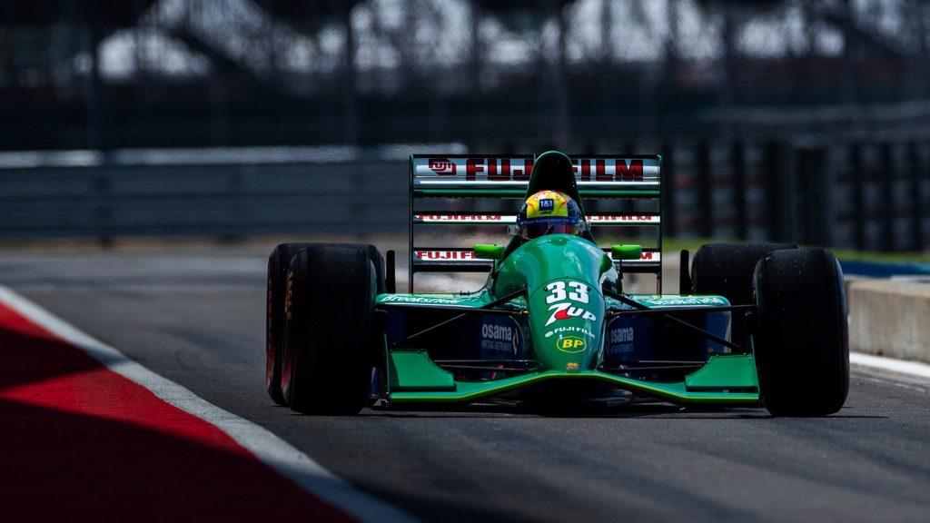 Mick Schumacher Drove Michael Schumacher's First Formula 1 Car