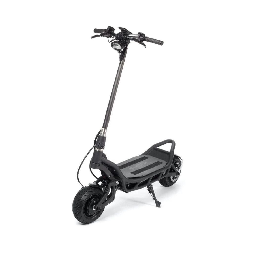 A gray NAMI BURN-E electric motorized scooter