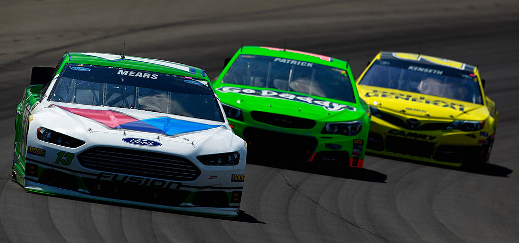 Casey MEars at Michigan Speedway