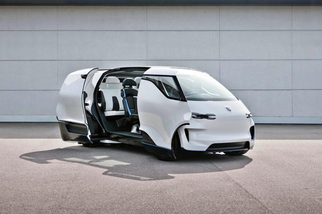 Porsche minivan concept exterior