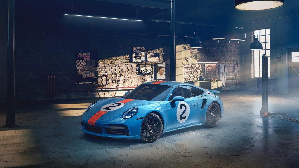 Commemorative Porsche 911 Turbo S Mexican Racing Driver Pedro Rodriguez