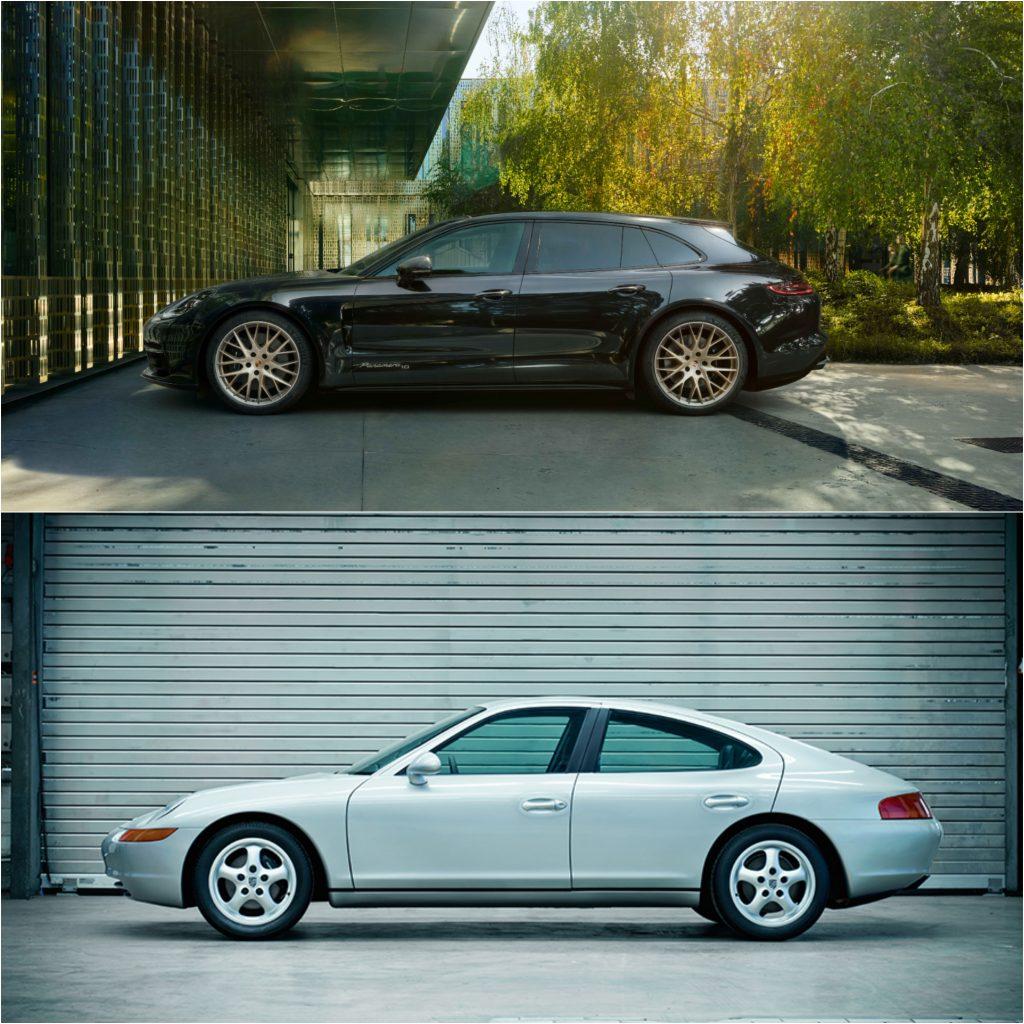 The Four Door Porsche Panamera (Top) and 989 Concept(Bottom)