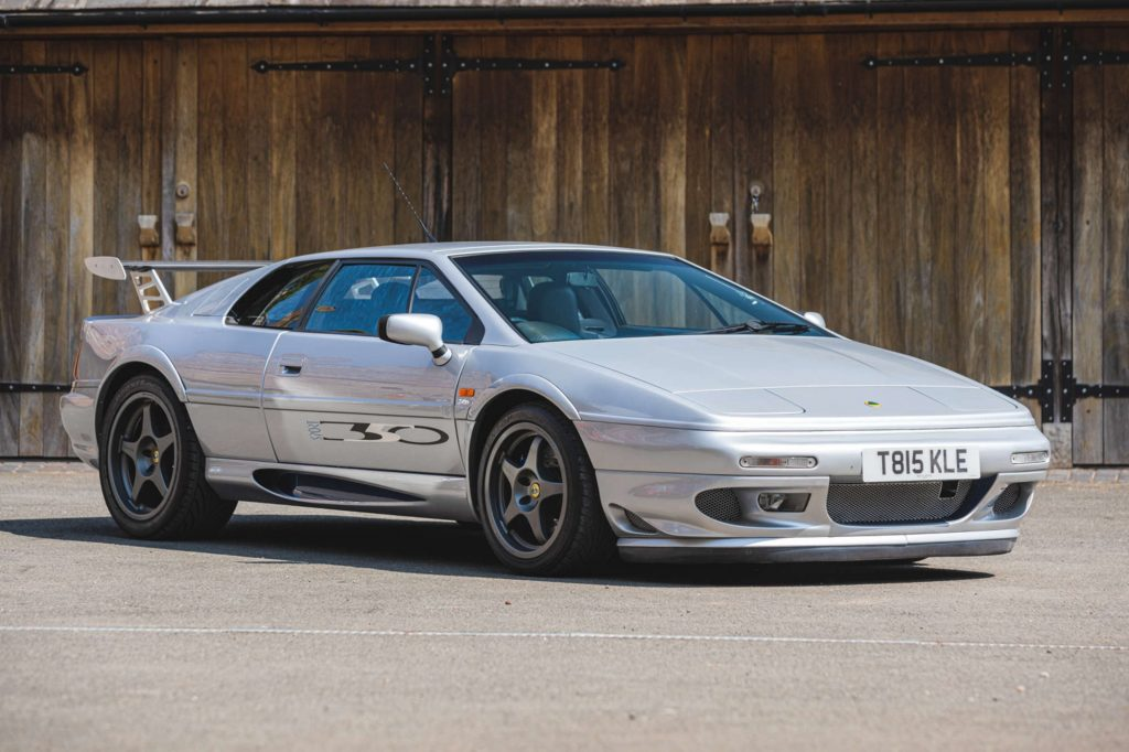 Richard Hammond's silver 1999 Lotus Esprit Sport 350