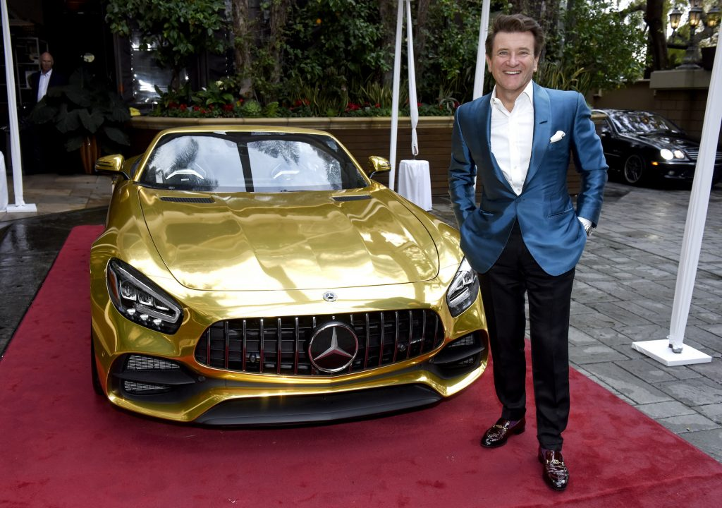 Robert Herjavec attends the Mercedes-Benz Academy Awards Viewing Party in Los Angeles in February 2020