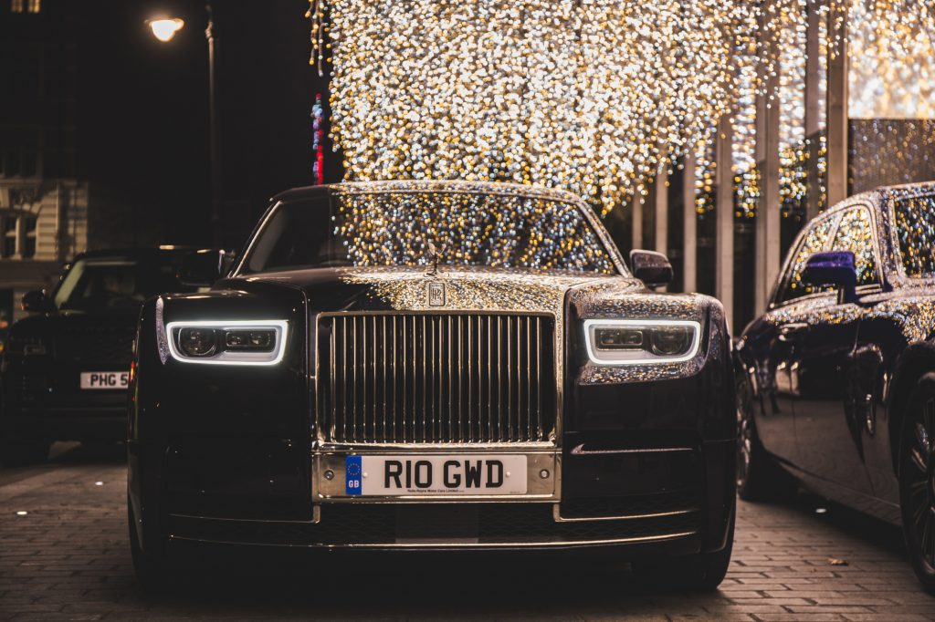 A Rolls-Royce Phantom 8