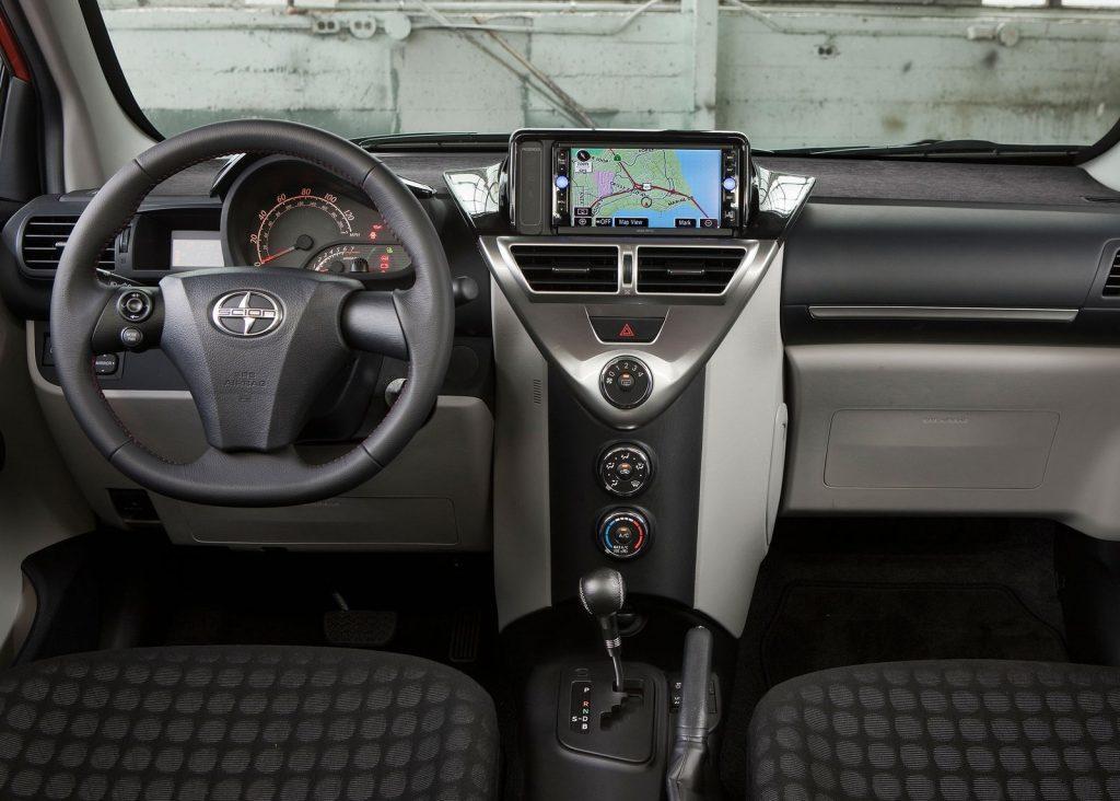 2012 Scion IQ interior