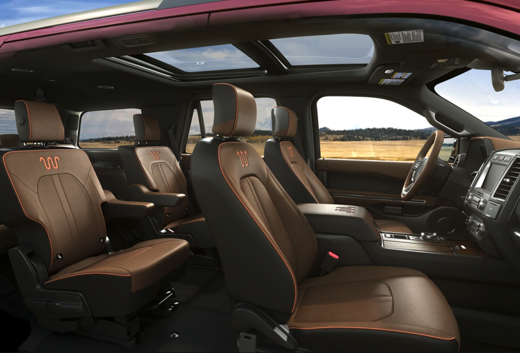 2021 Ford Expedition KingRanch interior