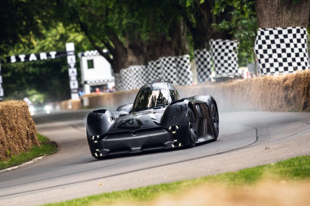 The McMurtry Speirling is not only one of the fastest EVs it is also the loudest EV in the game