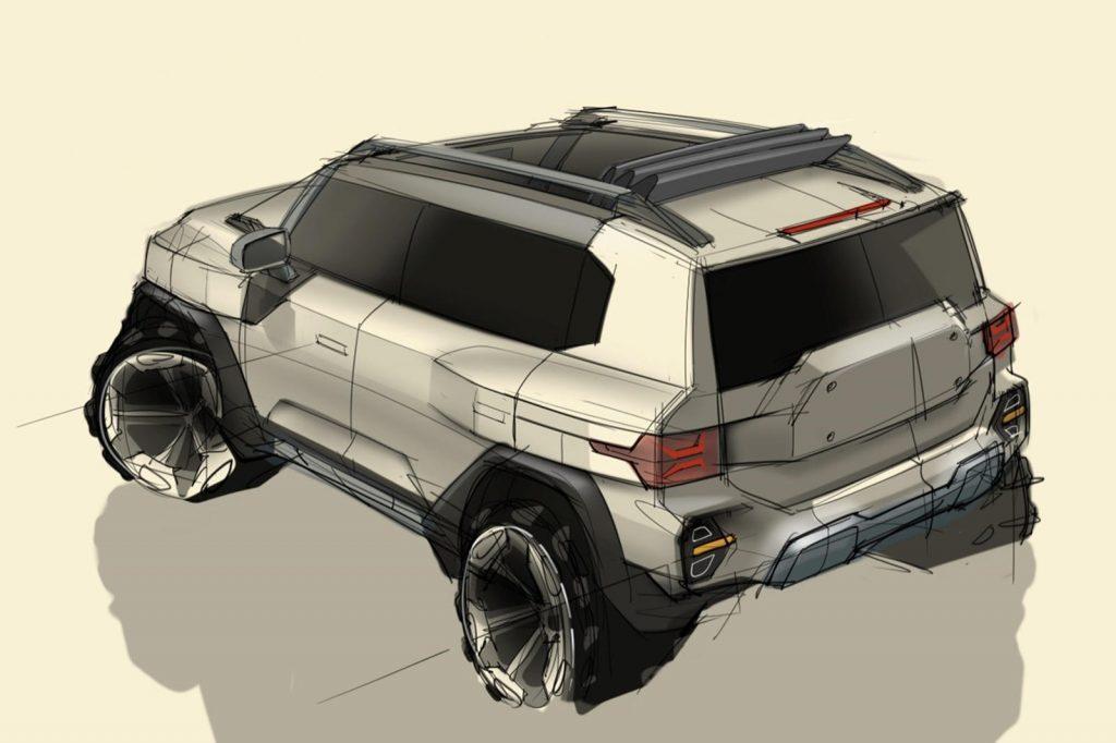 SsangYong SUV design study