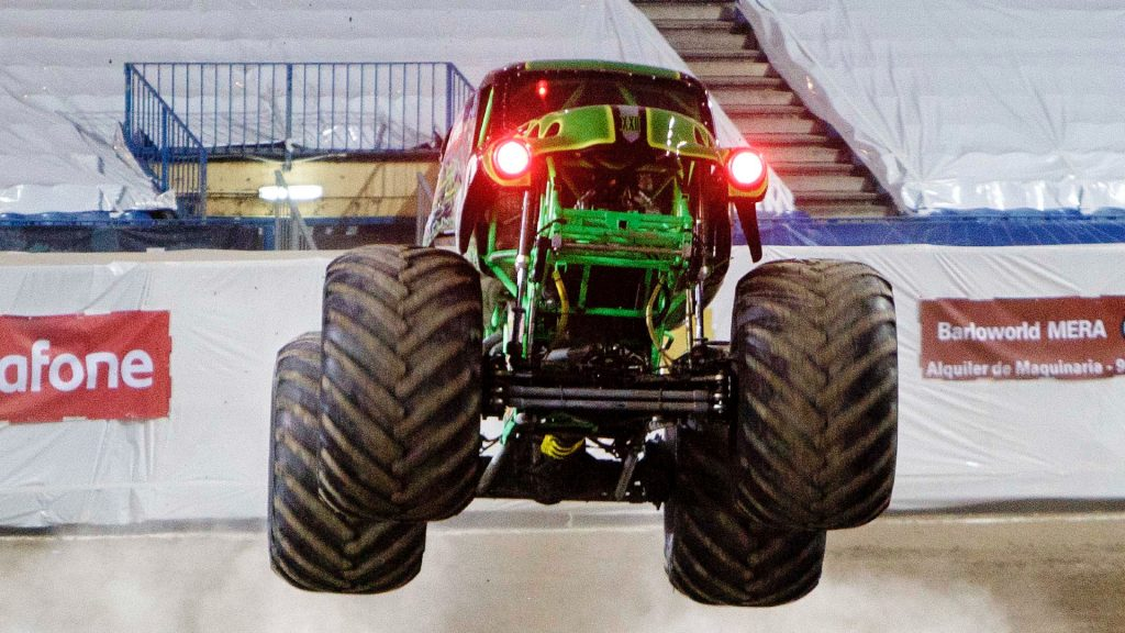 The Grave Digger monster truck.