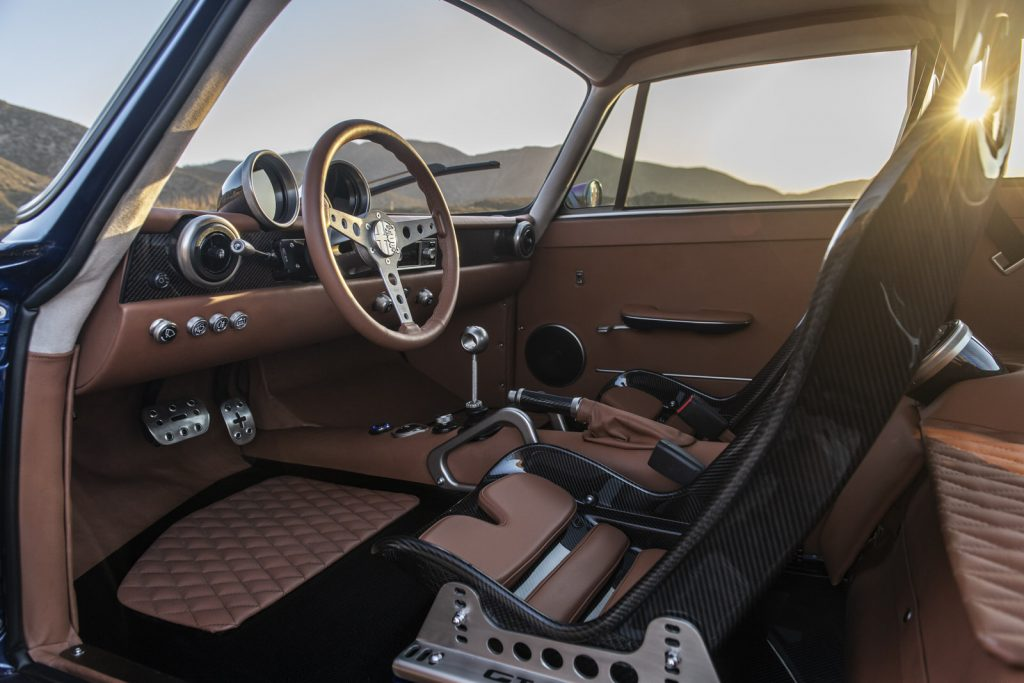 Totem Giulia GT Electric Alfa Romeo Interior