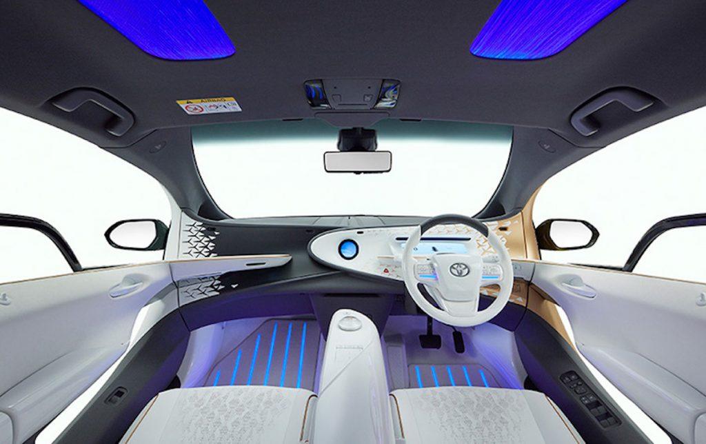 Interior of the Toyota LQ concept