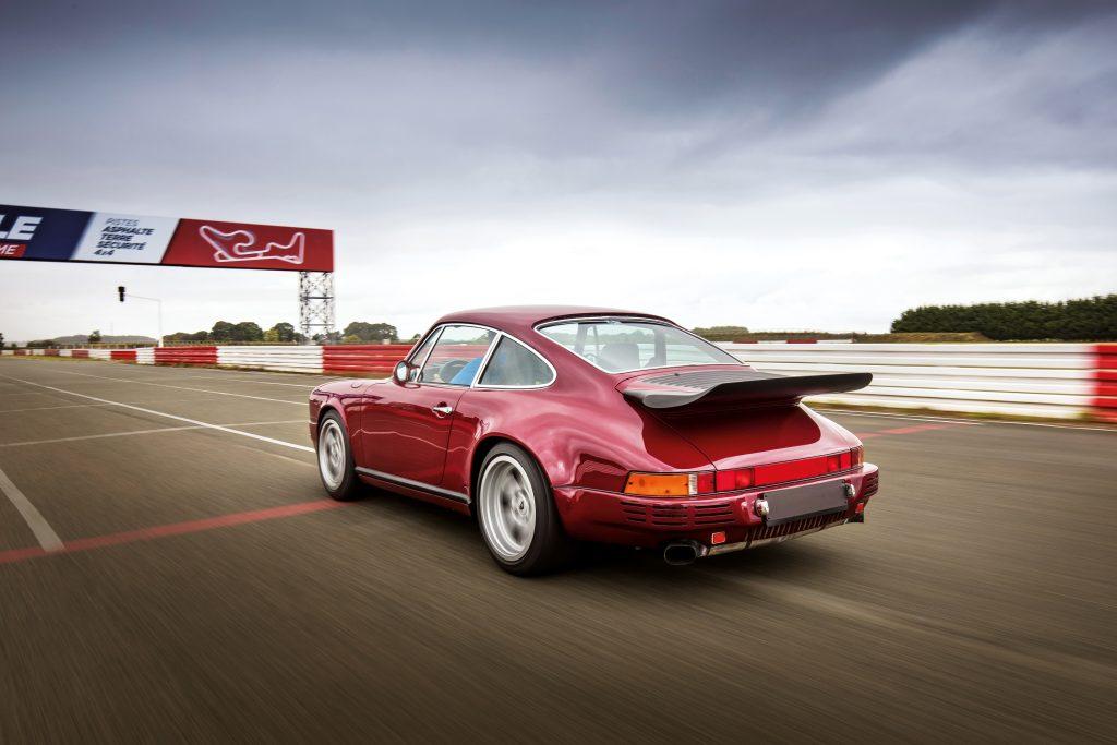 Vintage Porsche On Track