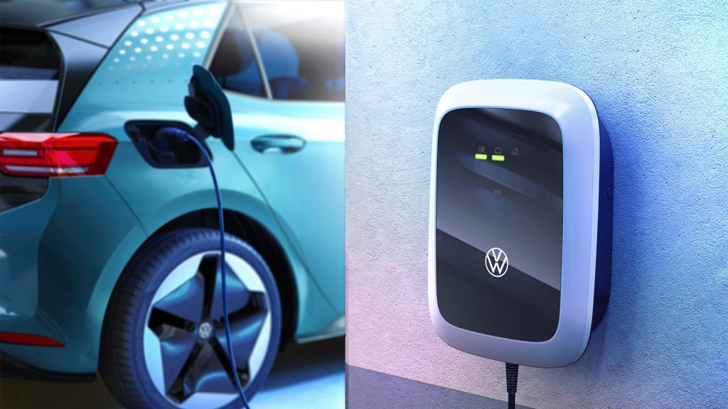 A Volkswagen ID.Charger.